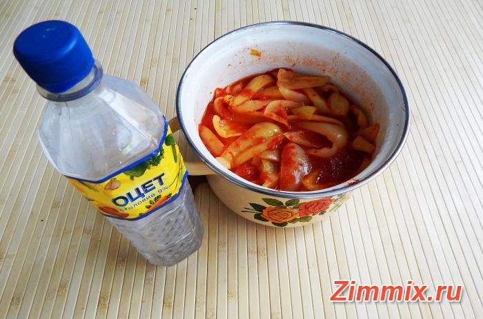 Лечо из болгарского перца на зиму фото рецепт - шаг 11