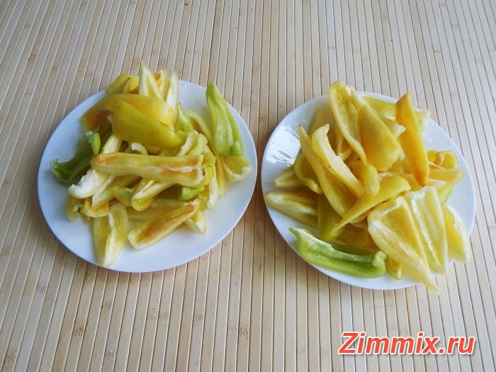 Лечо из болгарского перца на зиму фото рецепт - шаг 4