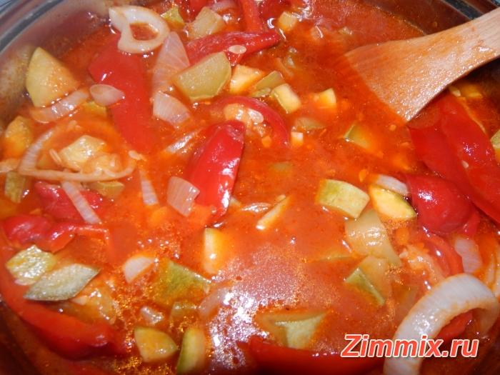 Лечо из кабачков на зиму пошаговый рецепт с фото - шаг 9