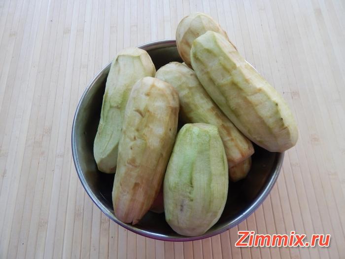 Салат из баклажанов на зиму  пошаговый рецепт  - шаг 1