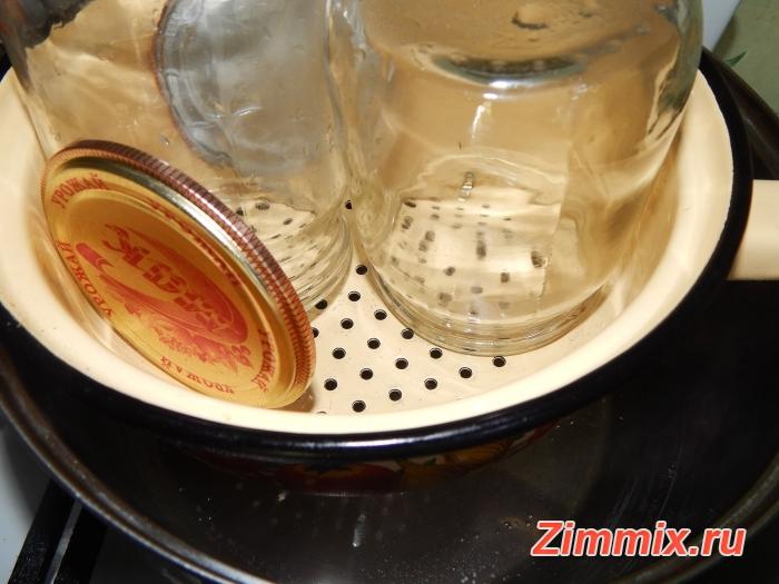 Салат из баклажанов на зиму  пошаговый рецепт  - шаг 11