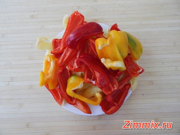 Салат из баклажанов на зиму  пошаговый рецепт  - шаг 3