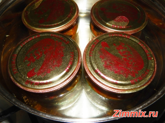 Салат из баклажанов по-корейстки на зиму - шаг 13