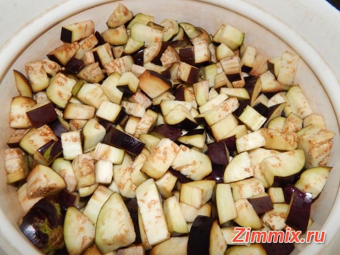 Салат из баклажанов по-корейстки на зиму - шаг 5