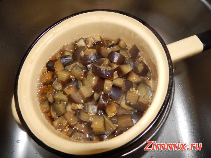 Салат из баклажанов по-корейстки на зиму - шаг 6