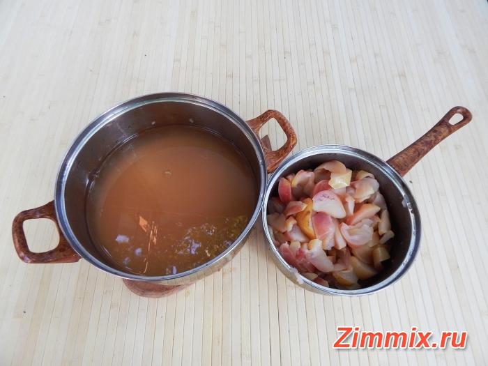 Яблочное желе на зиму рецепт с фото - шаг 6